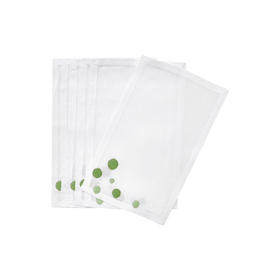 Confettis green Cocktail Napkins