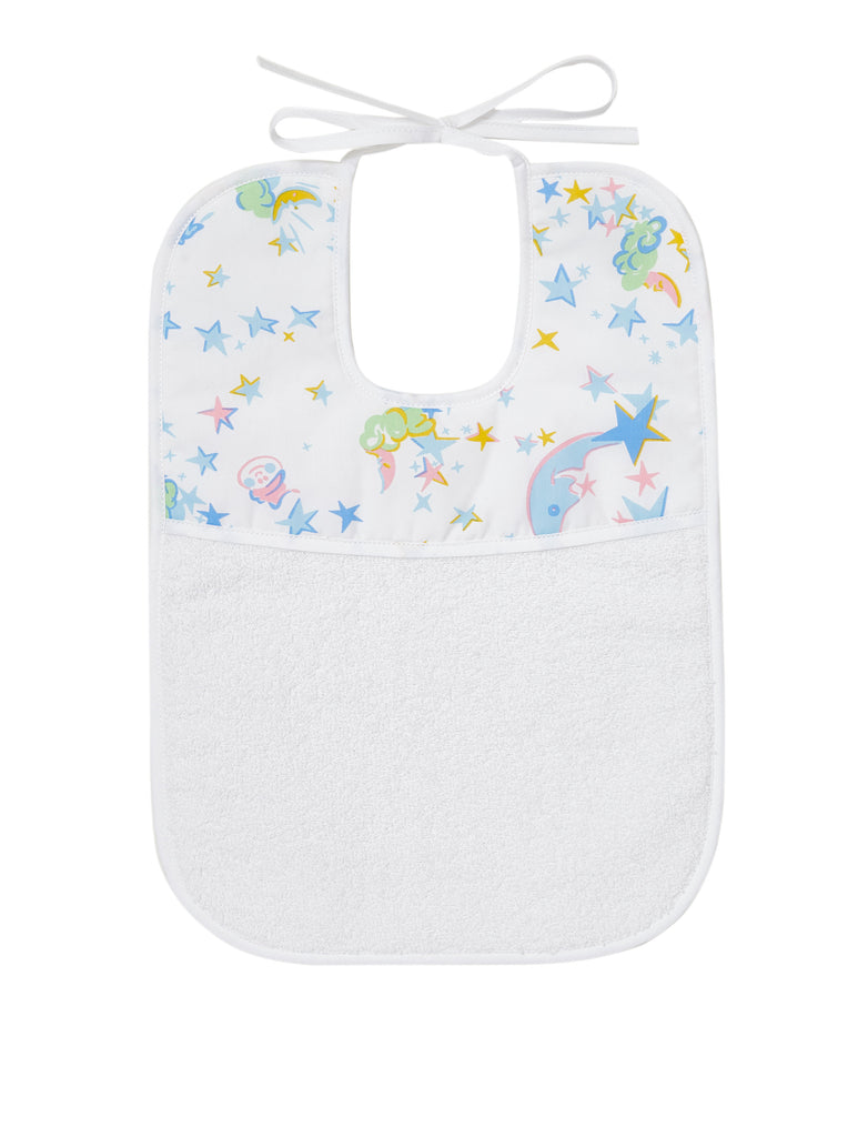 Moons/Stars Multi Printed Bibs
