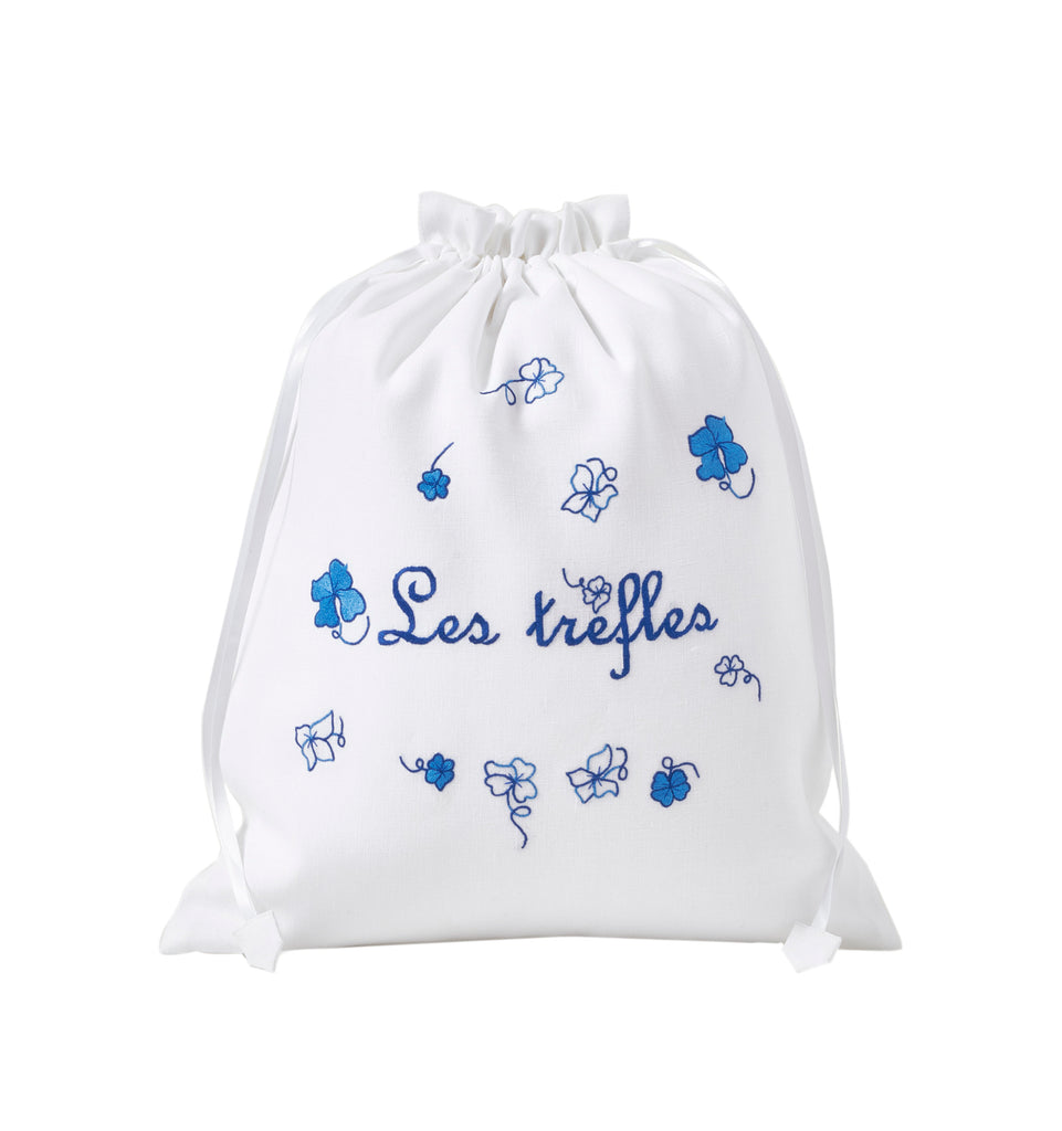 Trèfles blue Lingerie Bag