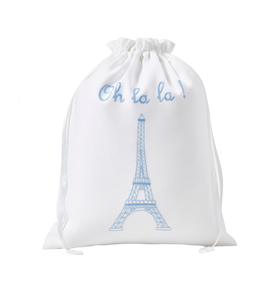 Eiffel Towel Lingerie Bag