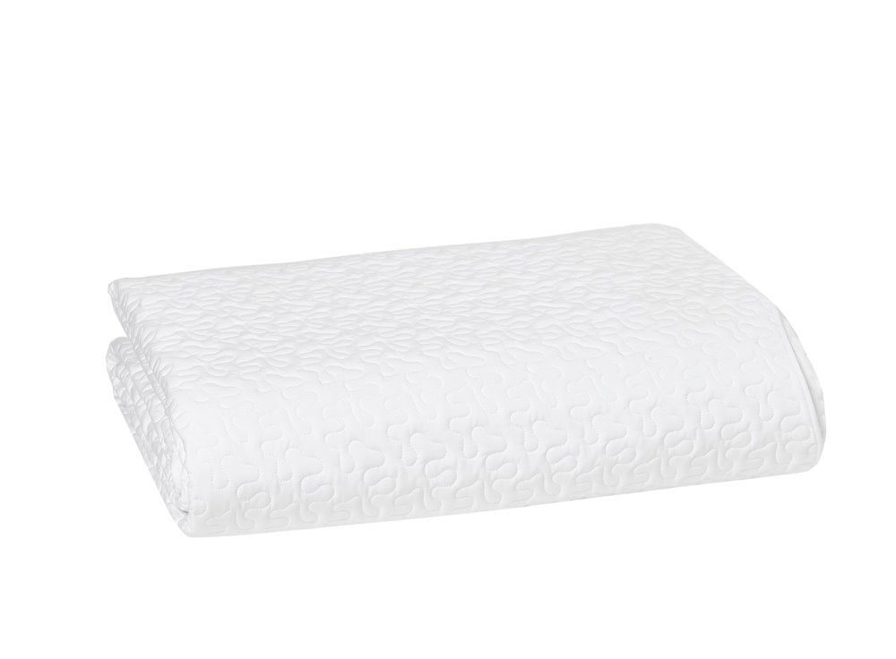 Vermicelle white Coverlet