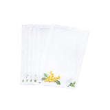 Lilas yellow Cocktail Napkins