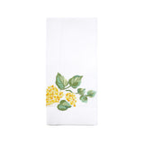 Lilas yellow Guest Towel