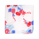 Printed Demoiselles Red/Blue Handkerchief