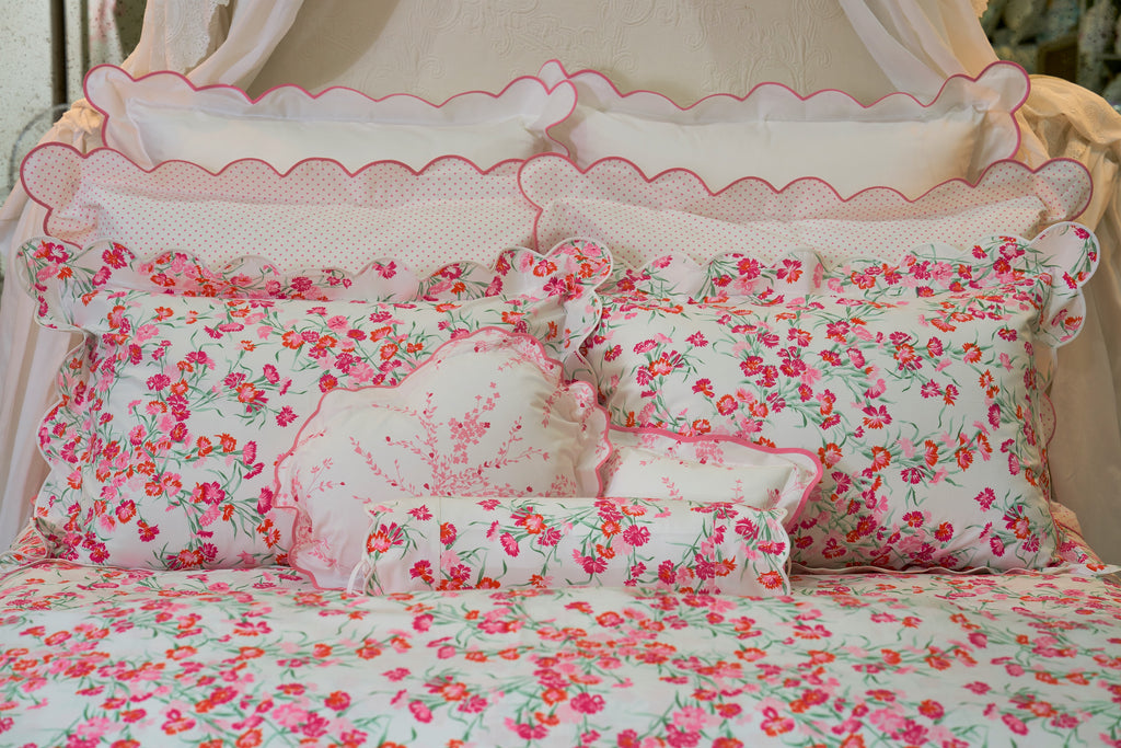 Mini Confettis pink Bed Linens