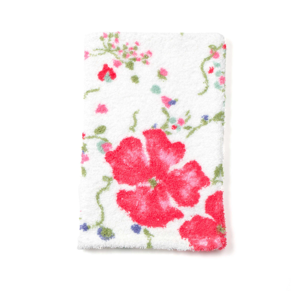 Fragrance pink bath mitt
