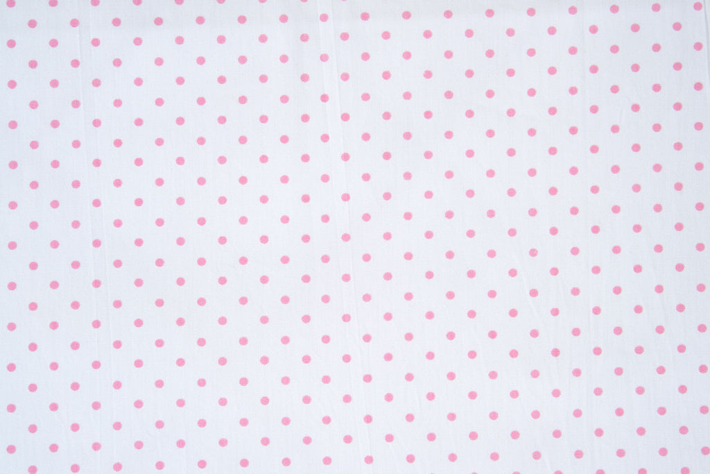 Coeurs Pink/Mini Confettis Pink Reversible Baby Quilt