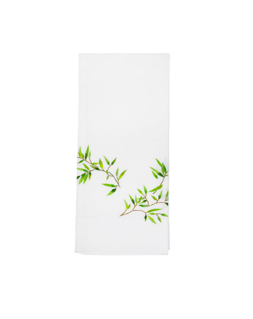 Papyrus Green Guest Towel