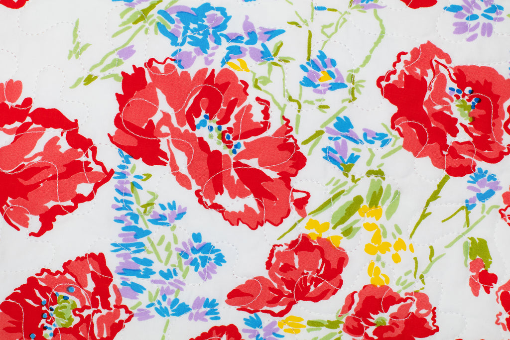 Coquelicots Red Coverlet