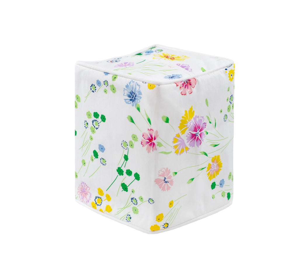 Fleurs d'Avril Tissue Box Cover