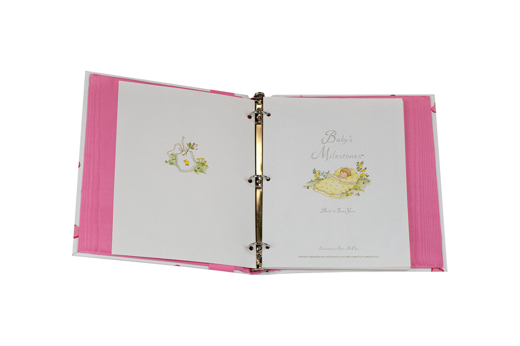New York Mille Fleurs Baby Book