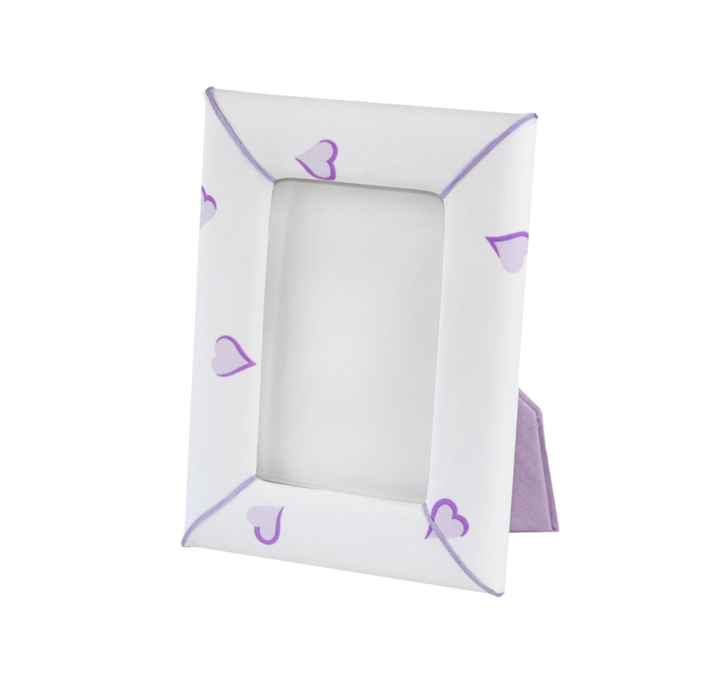 Coeurs Lavender Picture Frame
