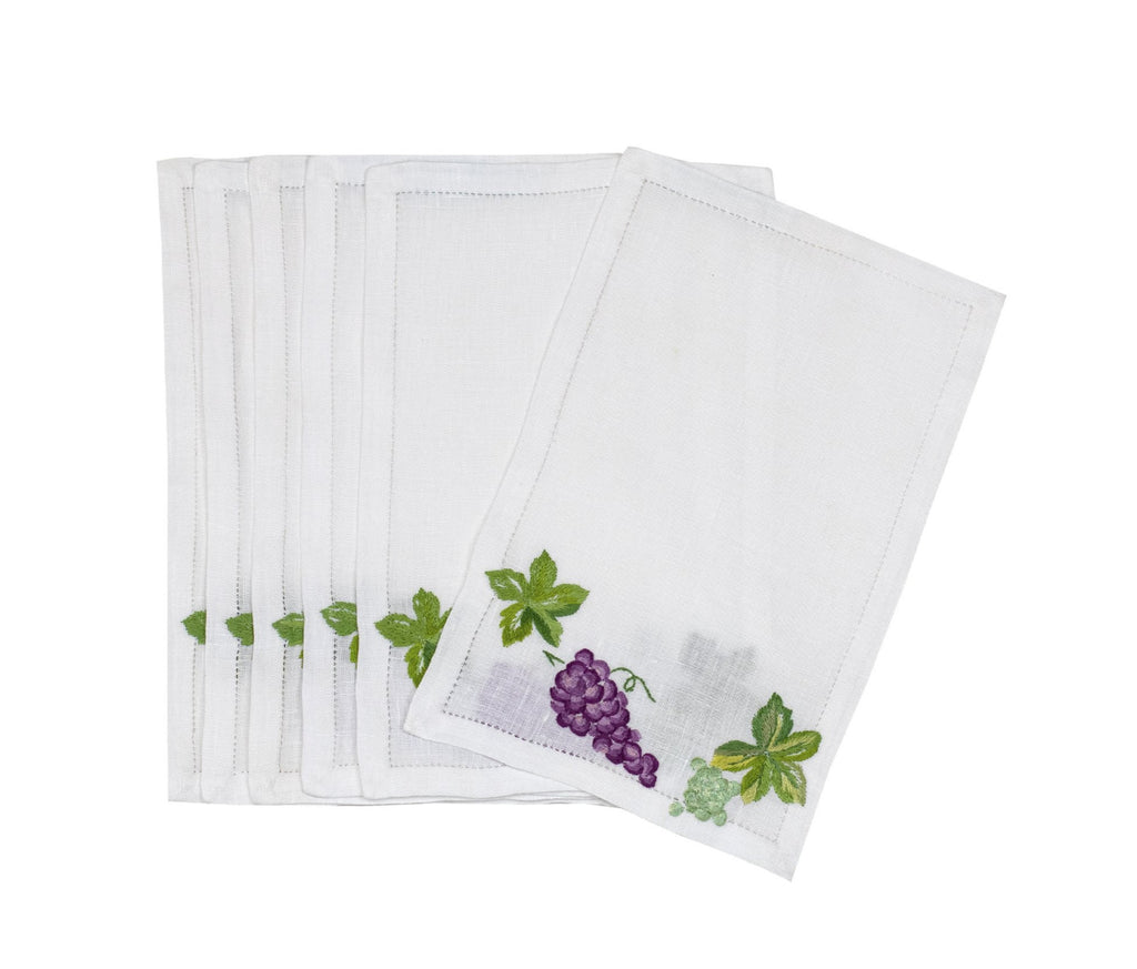 Raisins Cocktail Napkins