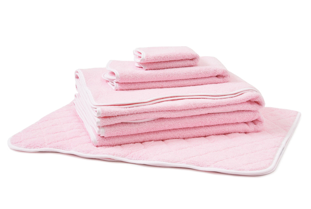 Solid Pink #202 Towels