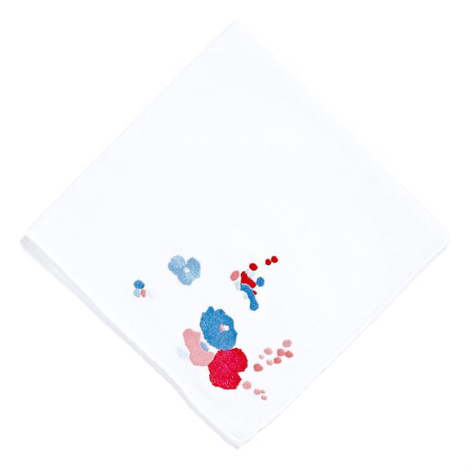 Demoiselles Embroidered Handkerchief