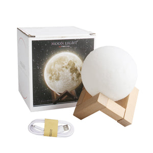 3D LED Moon Lamp (6 sizes)