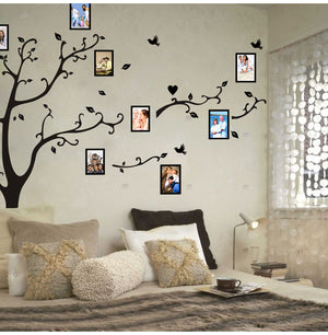 3D Family Photo Frame Tree Wall Sticker 200*250cm