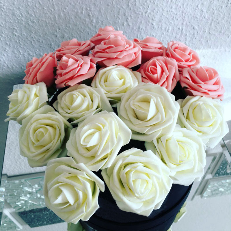 10 pieces Artificial Rose Flowers for Home Decoration