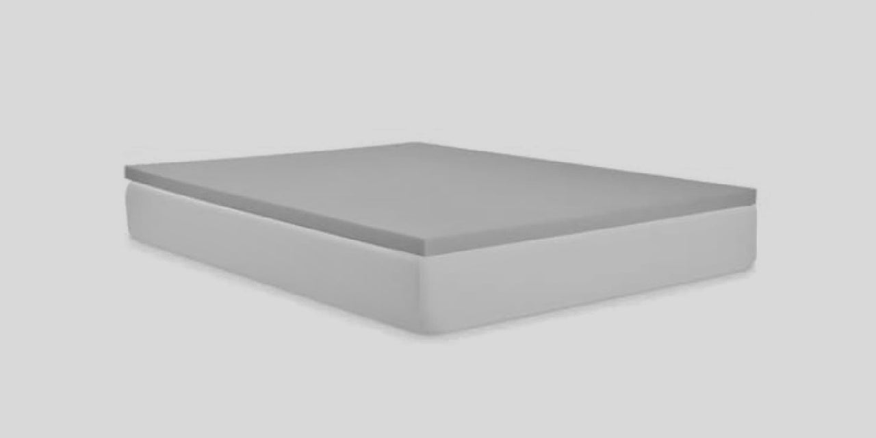 The Cool Memory Foam Mattress Topper Pad- Graphite Infused