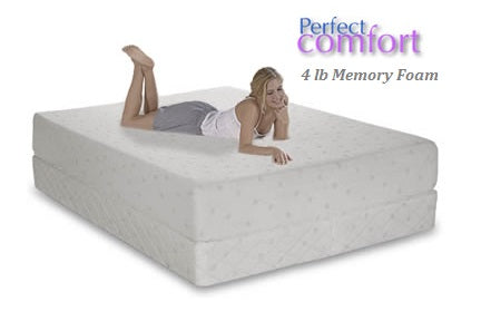 Perfect Comfort Memory Foam Mattress