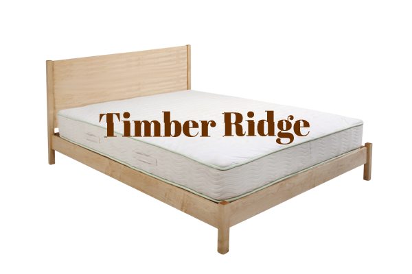 Ultimate Wood Bed Frame: Flat Top