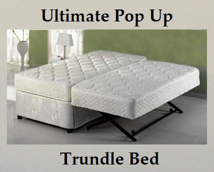 Ultimate Pop Up Trundle Bed & Classic Trundle Frame Set