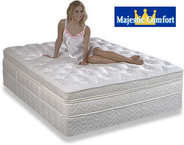 Majestic Comfort Memory Foam and Latex Mattress