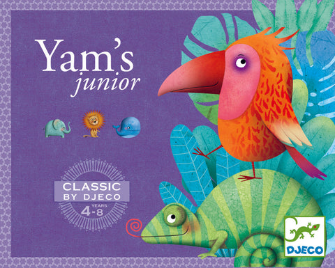 YAMS JUNIOR YAHTZEE. CLASSIC BY DJECO
