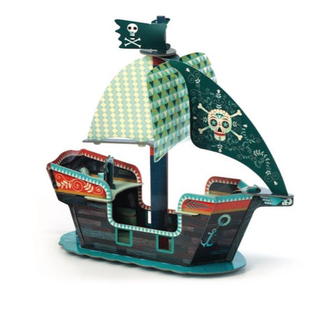 BARCO PIRATA 3D POP TO PLAY DJECO