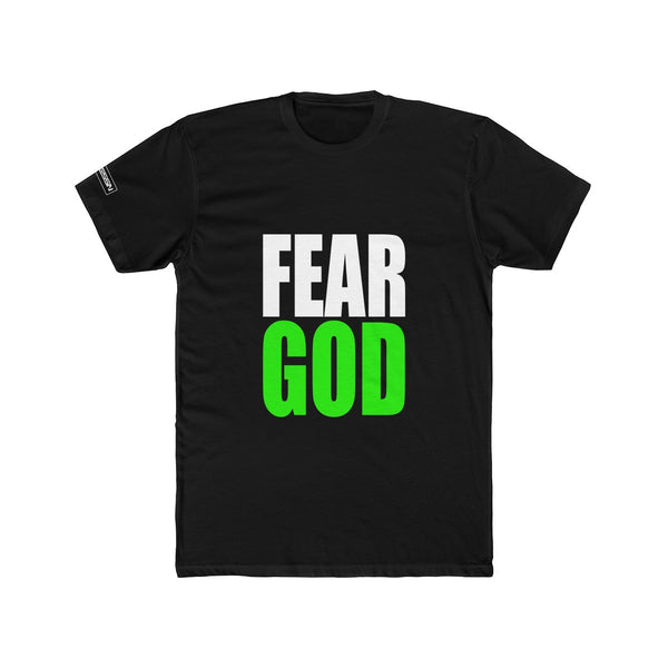 "Men's ""Fear God"" Cotton Crew Tee"