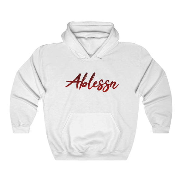 """Ablessn"" Unisex Heavy Blend™ Hooded Sweatshirt"