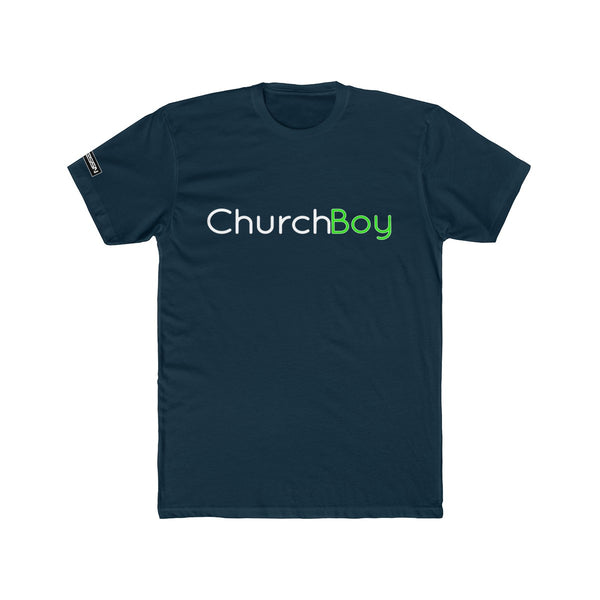 "Men's  ""Church Boy"" Cotton Crew Tee"