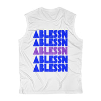 "Men's ""Ablessn"" Sleeveless Performance Tee"