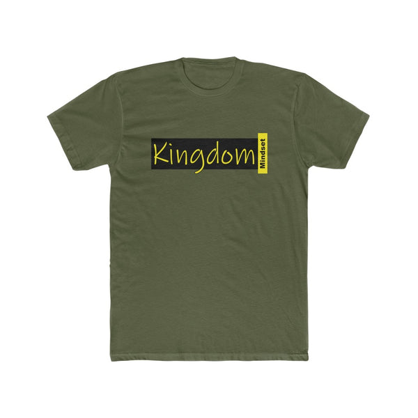 "Men's ""Kingdom Mindset""Cotton Crew Tee"