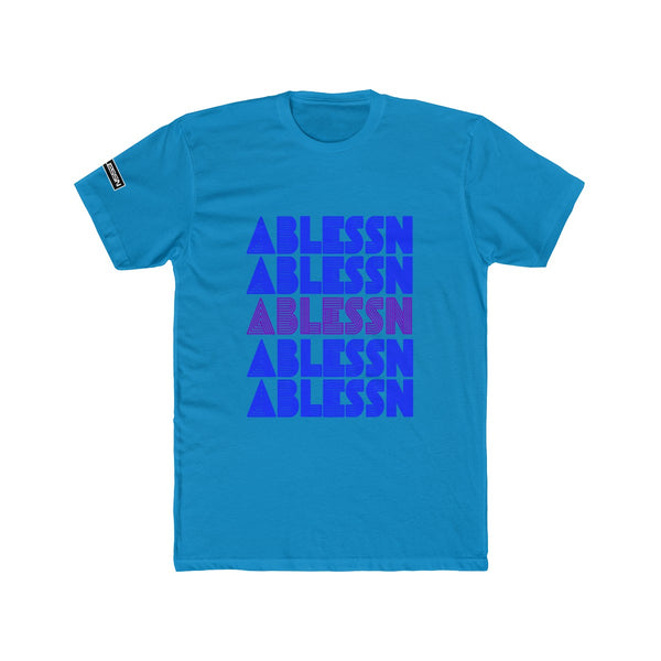 "Men's ""Ablessn"" Gradiant Cotton Crew Tee"