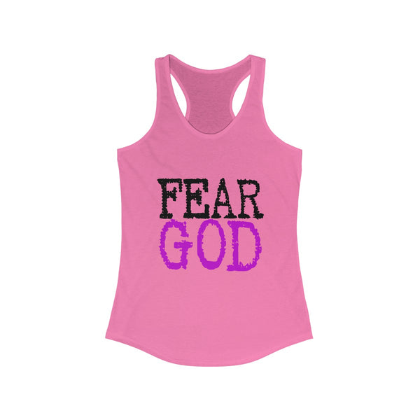 "Women's ""FEAR GOD"" Ideal Racerback Tank"