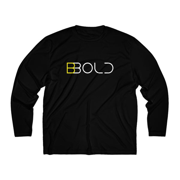 "Men's ""BBold"" Long Sleeve Moisture Absorbing Tee"