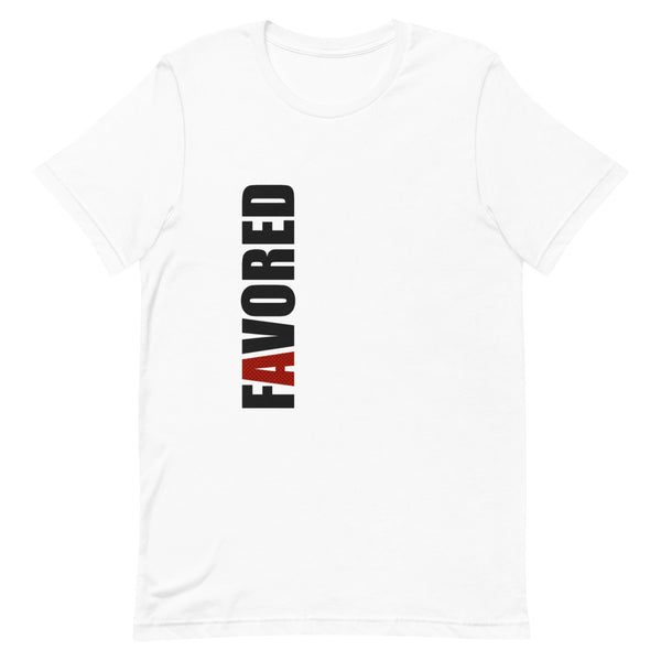 """Favored"" Short-Sleeve Unisex T-Shirt"
