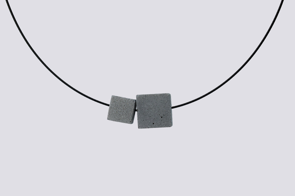 Concrete necklace FUERTE