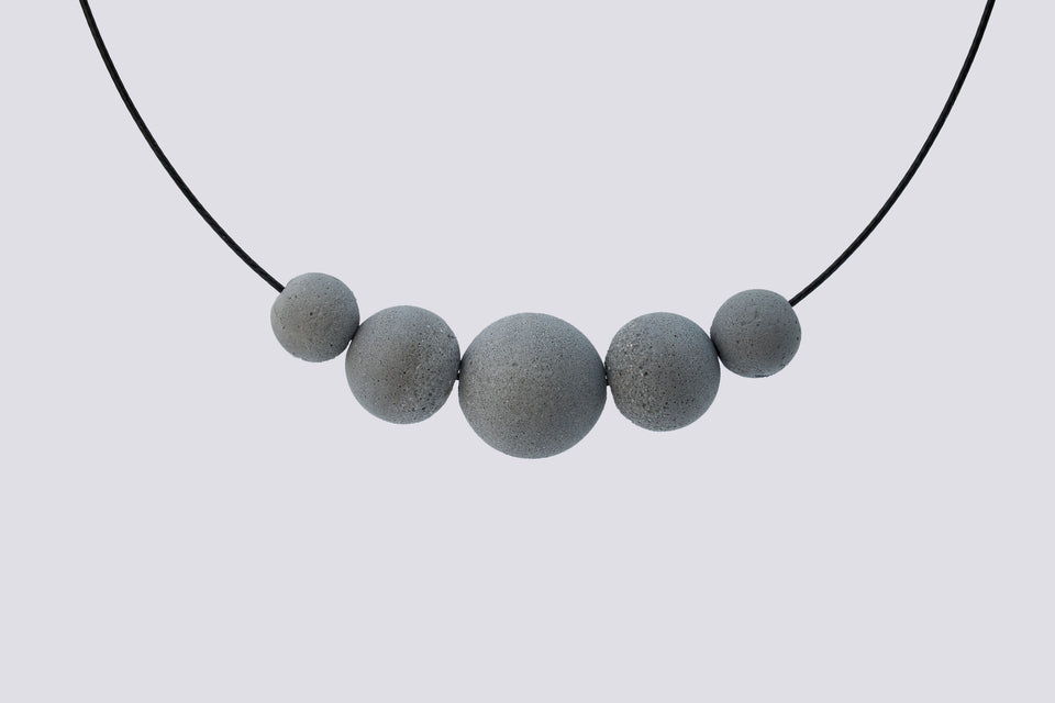 Concrete necklace MAJA