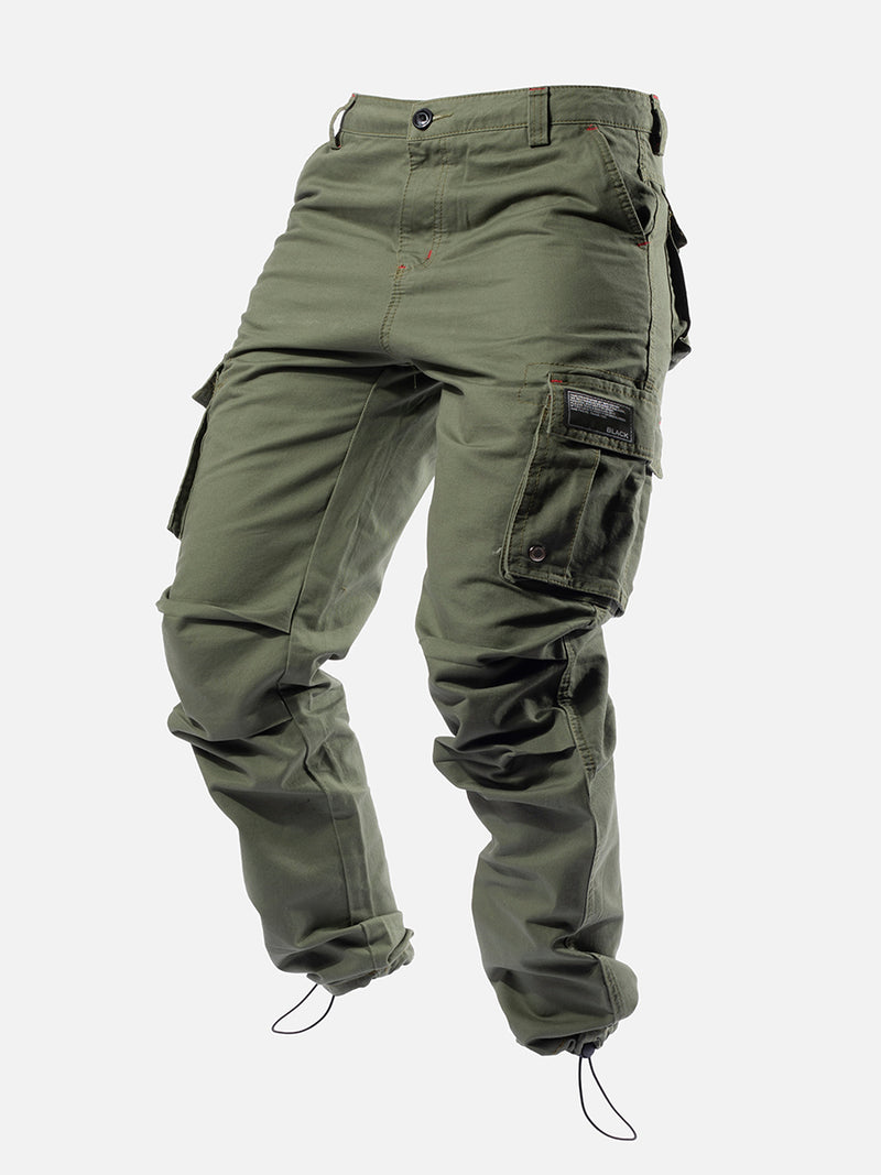 Blacktailor C9 Cargo Pants in green color model image 1