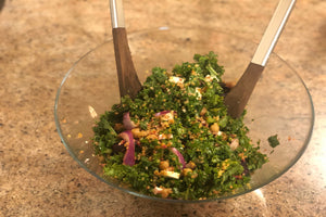 Loaded Quinoa and Kale Salad - Healthy Foodie - ILYNSI Yoga