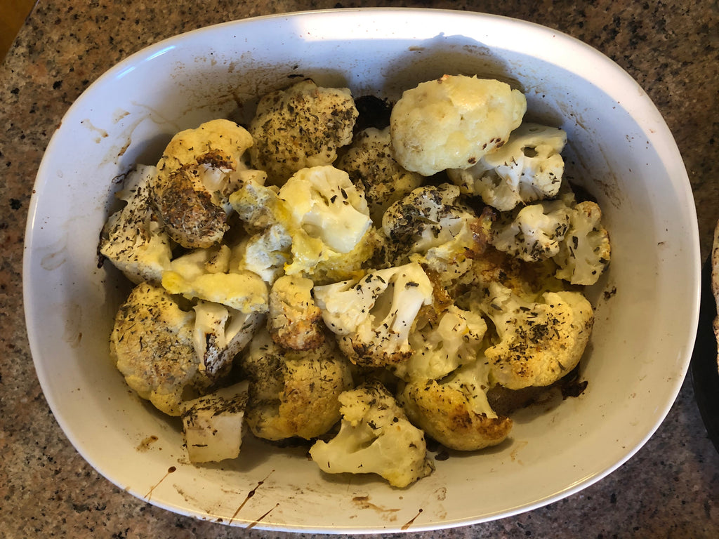 Roasted Cauliflower Recipe - Healthy Foodie - ILYNSI Yoga