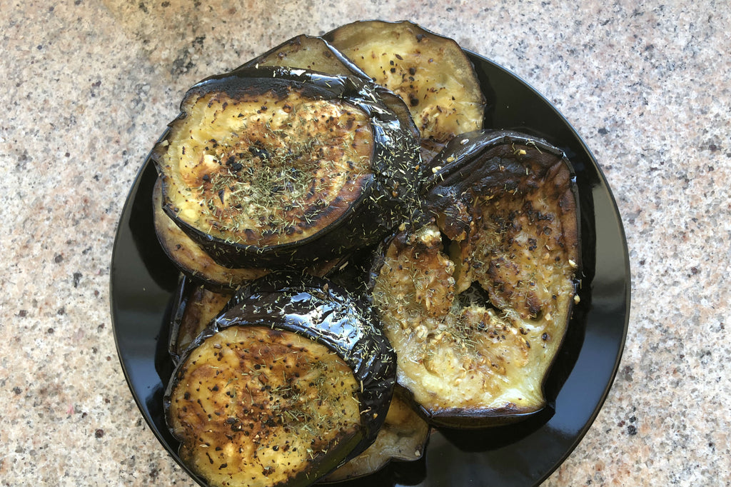 Grilled Eggplant - Healthy Foodie - ILYNSI Yoga
