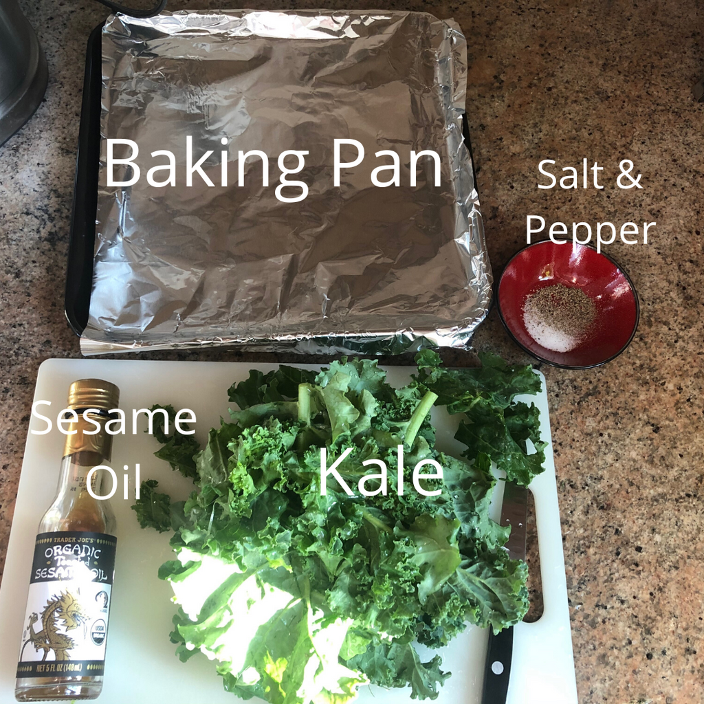 Kale Chips Recipe - ILYNSI Yoga - Healthy Foodie