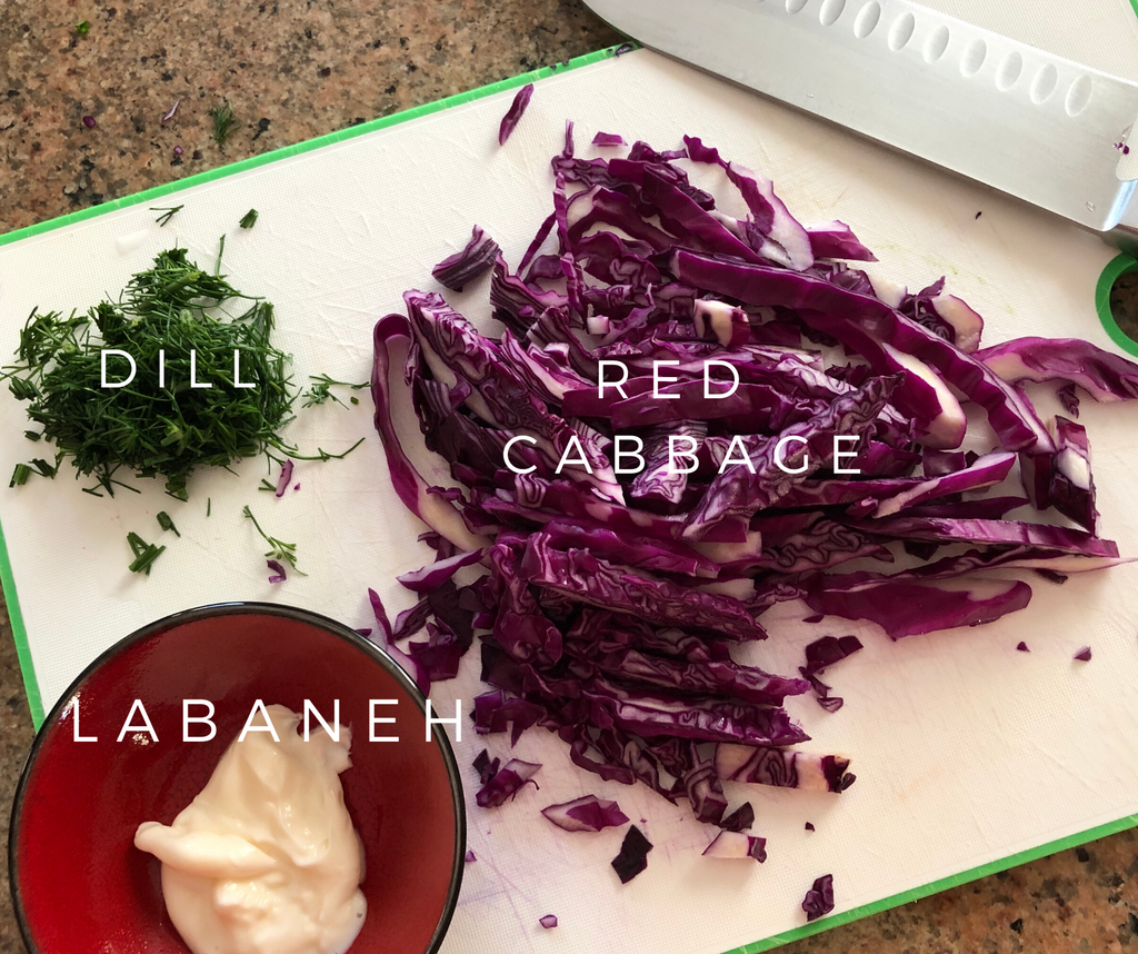 Red cabbage salad - healthy foodie - ILYNSI Yoga