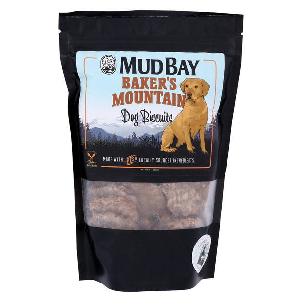 Mud Bay Baker's Mountain Dog Biscuits 8 oz.