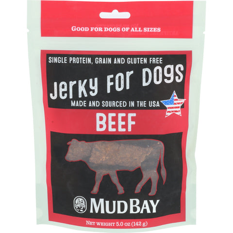 Mud Bay Beef Jerky for Dogs 5 oz.