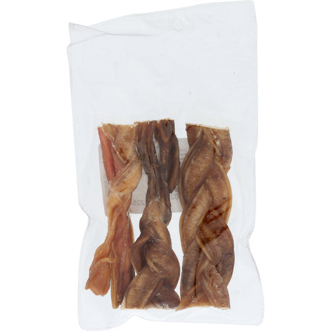 Mud Bay Braided Bully Sticks 5 inch (3-Pack)