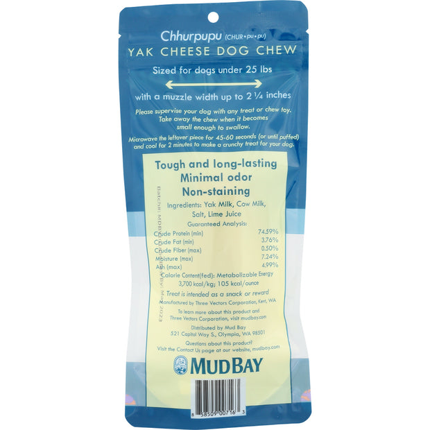Mud Bay Chhurpupu Yak Chew Small
